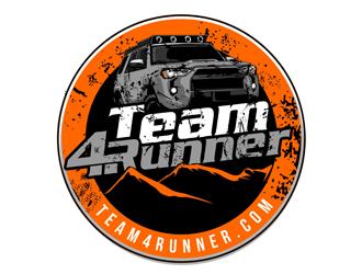 Team4Runner logo design