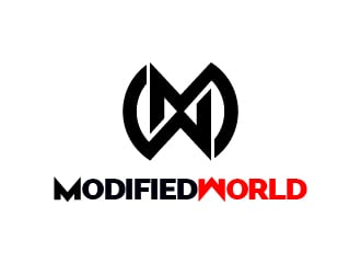 Modified World logo design