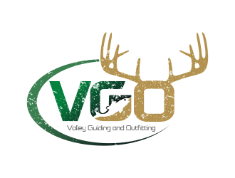 Valley Guiding and Outfitting logo design