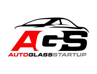 Auto Glass Startup logo design