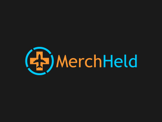 MerchHeld logo design