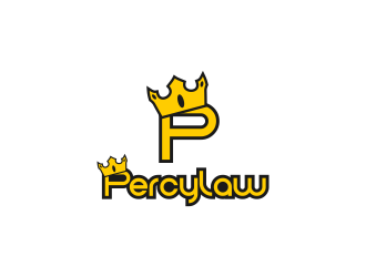 PercyLaw logo design