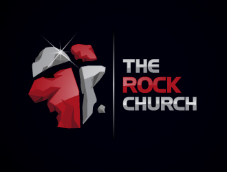 The Rock Church logo design