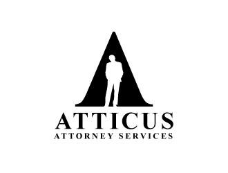 Atticus Attorney Services logo design