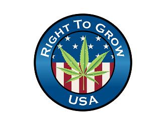 Right to Grow USA logo design