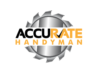 Accurate Handyman logo design
