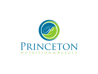 Princeton Nutrition & Beauty logo design