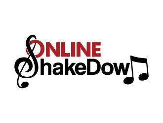 Online Shakedown logo design