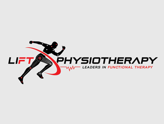 LIFT PHYSIOTHERAPY logo design