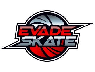 EVADE SKATE logo design