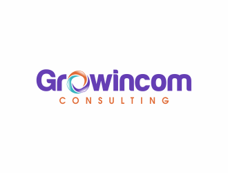 Growincom  (Consulting, opcional) logo design