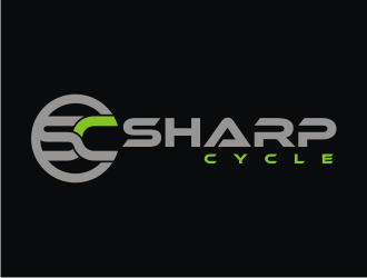 Sharp Cycle logo design