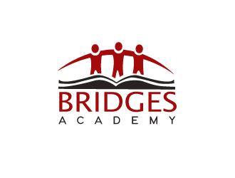 Bridges Academy logo design