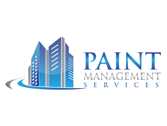 Paint Management Services logo design