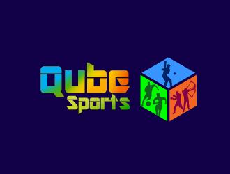 Qubesports logo design