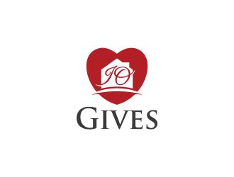 JO Gives logo design
