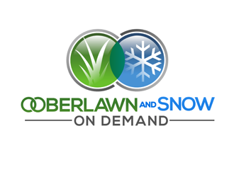 OOBERLAWN AND SNOW logo design