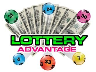Lottery Advantage logo design