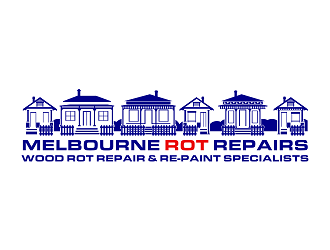 Melbourne Rot Repairs logo design