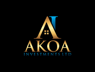 Akoa Investments Ltd. logo design