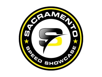 Sacramento Speed Showcase logo design
