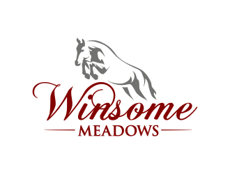 Winsome Meadows logo design