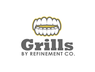 Grills by Refinement Co. logo design