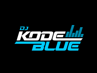 DJ Kode Blue logo design