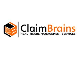 ClaimBrains logo design