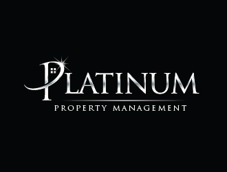 Platinum Property Management logo design