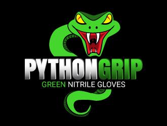 Python Grip logo design