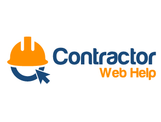 Contractor Web Help logo design