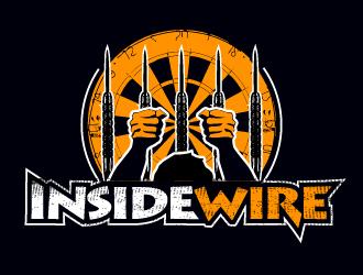 INSIDE WIRE logo design