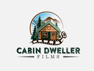 Cabin Dweller Films logo design