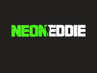 NeonEddie logo design