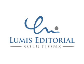 Lumis Editorial Solutions logo design