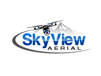 Sky View Aerial logo design