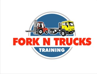 Fork n Trucks Training logo design