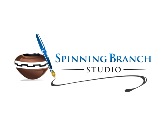 Spinning Branch Studio logo design