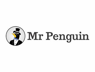 Mr Penguin logo design