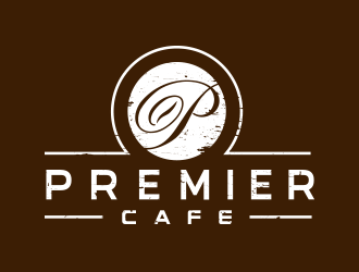 Premier Cafe logo design