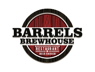 Barrels Brewhouse logo design