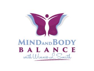 Mind and Body Balance with Winnie L. Smith logo design
