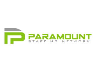 Paramount Staffing Network logo design