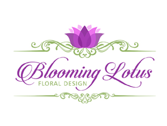 Blooming Lotus logo design