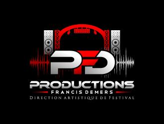 Productions Francis Demers (direction artistique de festival) logo design
