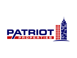 Patriot Properties logo design