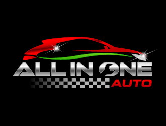 All in  one Auto logo design