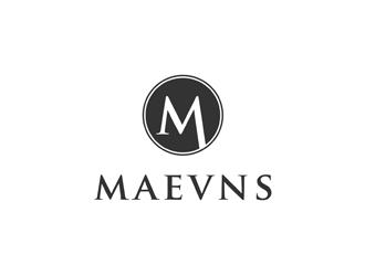 Maevns logo design