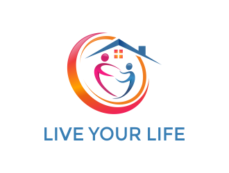 LIVE YOUR LIFE logo design